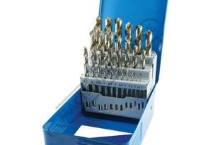 D123 Metric Precision HSS Drill Set - 25 Piece Ø1-Ø13mm 0.5mm Increments