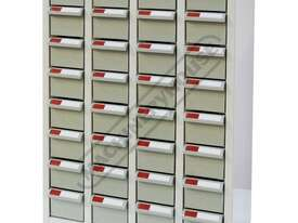 PTB-32 Parts Storage Bins 32 Bins - 466 x 222 x 642mm A8432 - picture0' - Click to enlarge