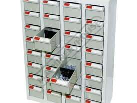 PTB-32 Parts Storage Bins 32 Bins - 466 x 222 x 642mm A8432 - picture3' - Click to enlarge