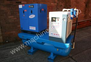7.5hp 5.5kW Screw Air Compressor Package