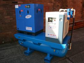 7.5hp 5.5kW Screw Air Compressor Package - picture0' - Click to enlarge
