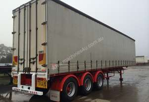 Used 2000 Barker 45 Ft. Road Train Curtainsider