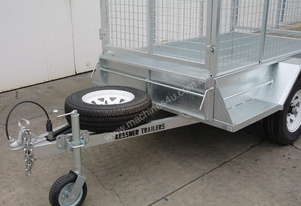 Kessner Galvanised Single Axle