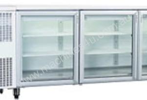 Skope 3 Door Bench Fridge CC500
