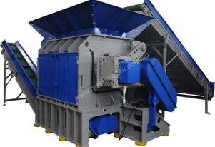 Shredders for TYRE RECYCLING - HEAVY DUTY