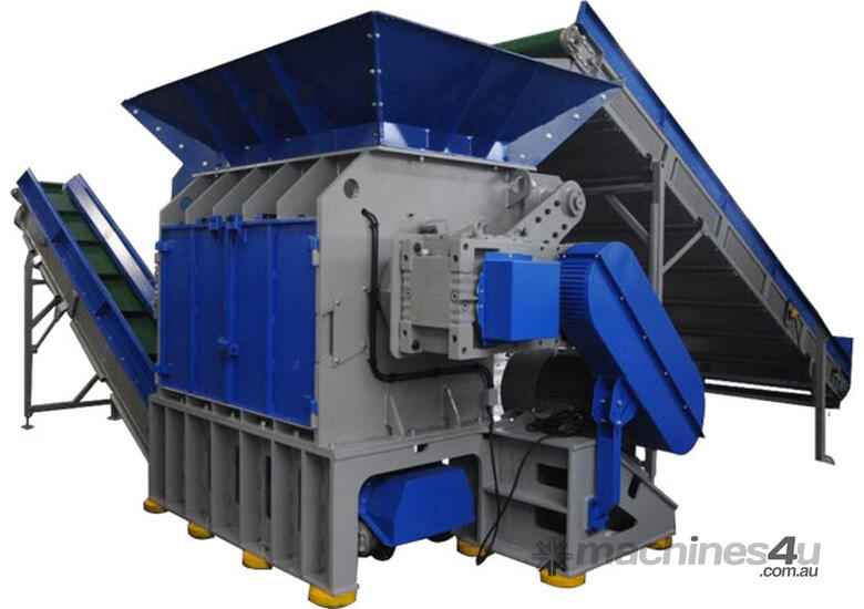New zerma ztts tyre recycling equipment in dandenong south for Tractor tire recycling