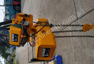 Anchor Kitto 3 tonne 2 x speed Electric 415v hoist