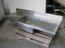 Large Commercial Stainless Steel Sink