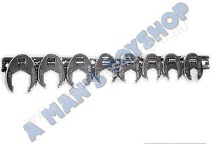 CROWSFOOT SET 8 PIECES IMPERIAL FLARE NUT