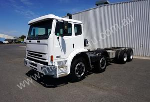 1997 INTER ACCO 2350G 8x4 CAB CHASSIS
