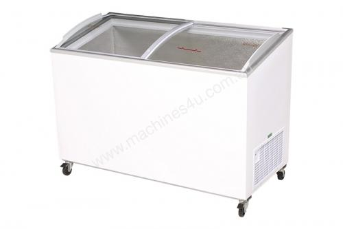 Top Curved Glass Chest Freezer