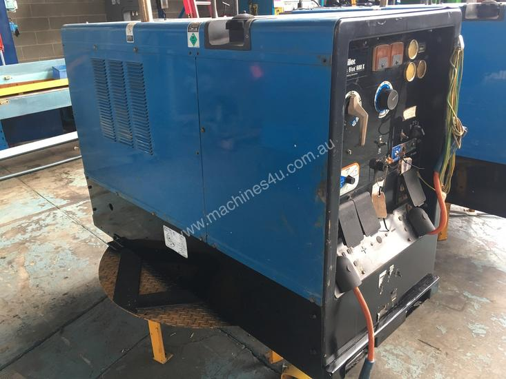 Used miller BIG BLUE 600X Diesel Driven Welders in