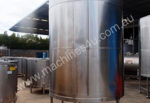 Stainless Steel Mixing Tank - Capacity 5,000 Lt