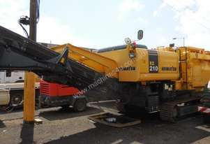 Komatsu BZ210 Soil Remediation Unit