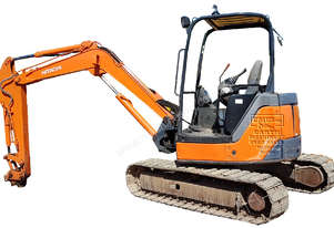 Hitachi ZX50U-2, steel track rubber pad, Call EMUS