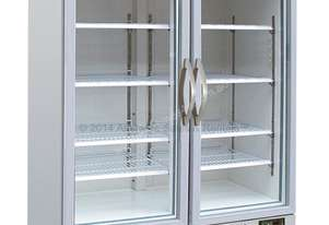 AGD920 |2 Door Upright Glass Door Refrigerator