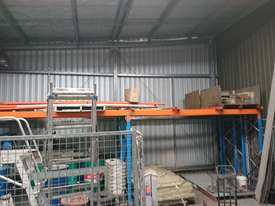 Dexion double deep, 3 pallet wide racking - picture0' - Click to enlarge