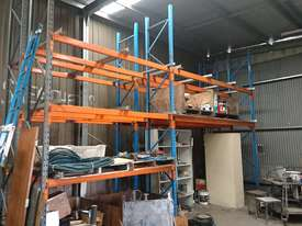 Dexion double deep, 3 pallet wide racking - picture1' - Click to enlarge