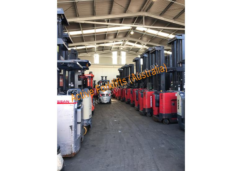 Raymond Electric Stand Up forklift Truck 6375mm Lift 2013 model