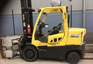Good condition Hyster counterbalance forklift