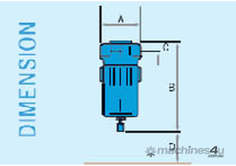 PRICE REDUCED - Compressed Air Filter G290H: 616cfm 0.01 micron filter