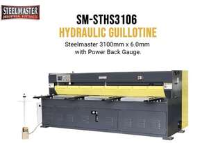 ASSET INDUSTRIAL 3100mm x 6mm Hydraulic Guillotine Power Operated Backguage