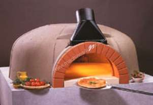 Vesuvio GR120 X 160 GR Series Oval Commercial Wood Fired Oven