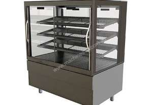 FPG 4H08-SQ-SD 4000 Square Series Heated Sliding Door Food Cabinet - 800mm