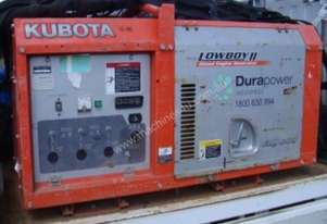 KUBOTA SINGLE PHASE DIESEL GENERATOR - LOT 90