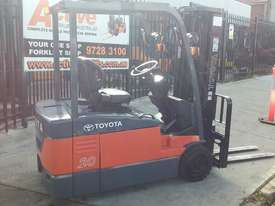 TOYOTA ELECTRIC FORKLIFT 7FBE20 4.5M LIFT CONTAINER MAST LATE MOEDEL - picture0' - Click to enlarge