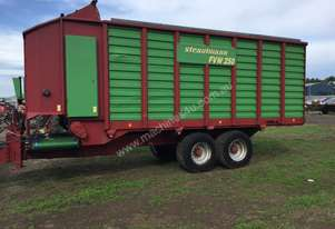 Strautmann FVW250 Bale Wagon/Feedout Hay/Forage Equip