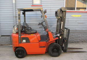 Nissan 1.5 ton Container Entry Mast, Used LPG Forklift