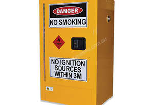 60 Litre Indoor Flammable Liquids Cabinet. Australian made to meet Australian Standards