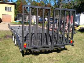 NEAR  NEW 4.5 TON 5.5M PLANT TRAILER W/ RAMPS  - picture3' - Click to enlarge