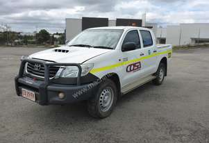 2014 Toyota Hilux 4x4 Crew Cab Will Body Utility - In Auction