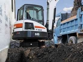 Bobcat E45 Excavator - picture1' - Click to enlarge