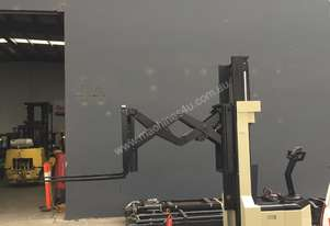 Refurbished Crown Heavy Duty Double Reach Walkie Stacker