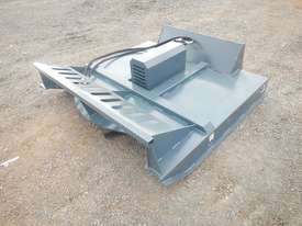 Unused 1800mm Hydraulic Brush Cutter to suit Skidsteer Loader - 10419-23 - picture1' - Click to enlarge