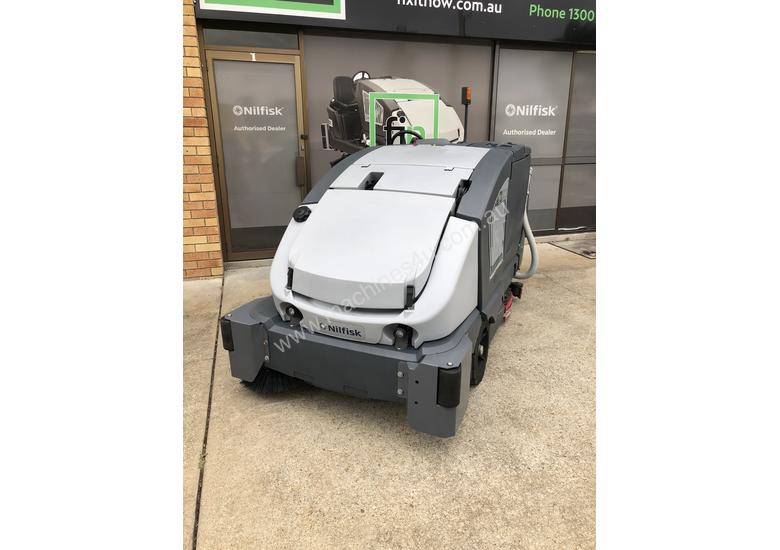 Sweeper Scrubber combo