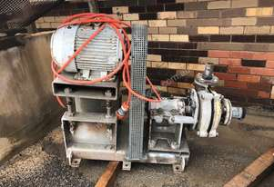 Warman Slurry Pump reconditioned