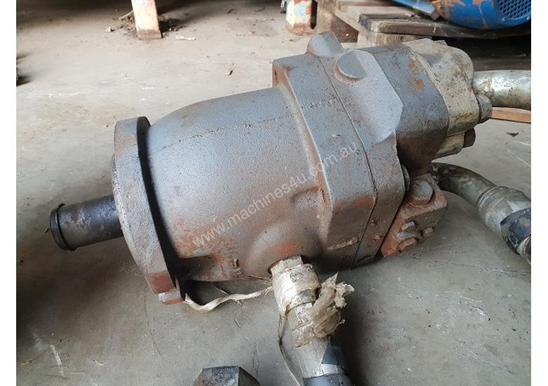 Hydraulic Motor and Planetary Drive