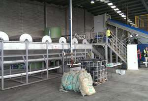Washing/Recycling Plants for Rigid Plastics