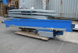 Long Motorised Belt Conveyor - 3.6m long - Colby