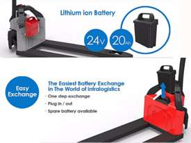 Brand New EP EPT12-EZ Lithium Battery Electric Pallet Truck/Jack - picture0' - Click to enlarge