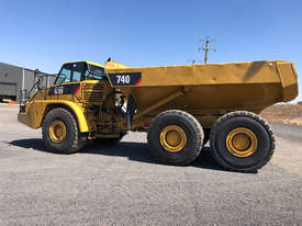 Caterpillar 740 Articulated Off Highway Truck - picture1' - Click to enlarge