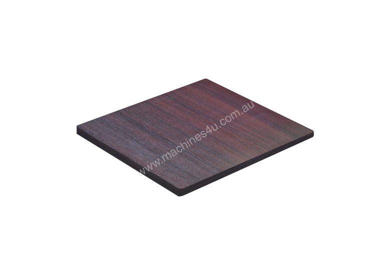 HLX-77B Square 700 Table Top - Black Oak