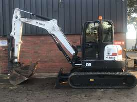 Bobcat E50 excavator 2013 model - picture0' - Click to enlarge