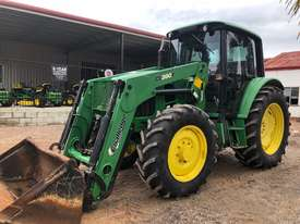 John Deere 6130 CAB TRACTOR WITH CHALLENGE LOADER - picture0' - Click to enlarge
