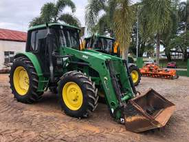 John Deere 6130 CAB TRACTOR WITH CHALLENGE LOADER - picture1' - Click to enlarge