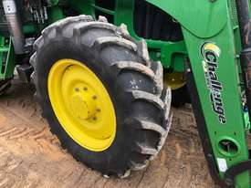 John Deere 6130 CAB TRACTOR WITH CHALLENGE LOADER - picture2' - Click to enlarge